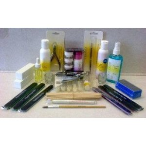Cuccio Professional Acrylic Powder & Liquid Student Starter Kit